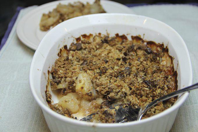 Pear, chocolate crumble a guilt-free dessert | Food
