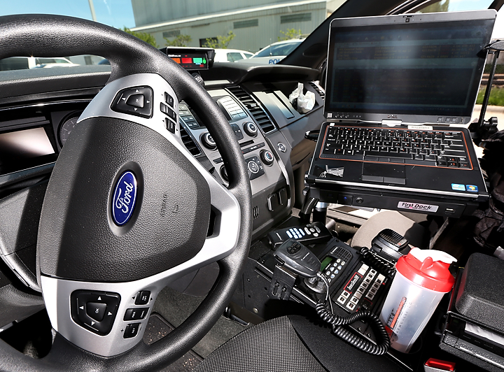 New police cars run into technical delays - The Grand ...