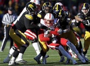college football-Nebraska-Iowa-Taylor Martinez, Steve Bigach, B.J. Lowery, Tanner Miller