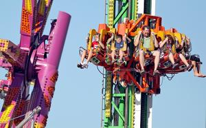 Belle City Amusements brings 40 rides to the Nebraska State Fair