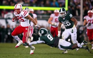 college football-Nebraska-Michigan State-Kyler Reed, Isaiah Lewis
