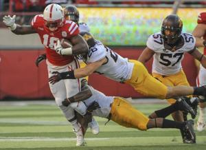 college football-Nebraska-MinnesotaMike Rallis, Troy Stoudermire, Quincy Enunwa, Aaron Hill
