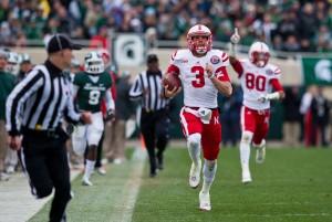 college football-Nebraska-Michigan State-Taylor Martinez, Kenny Bell