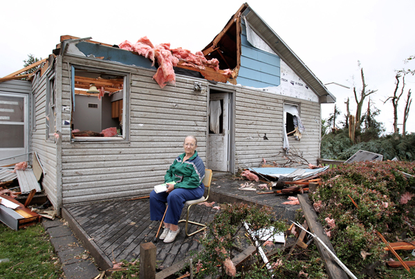 Download this Tornado Damage Near Osceola picture