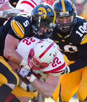 college football-Nebraska-Iowa-Rex Burkhead
