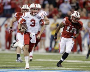 college football-Nebraska-Wisconsin-Taylor Martinez, Dezmen Southward