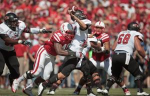 college football-Nebraska-Arkansas-Eric Martin, Ryan Aplin