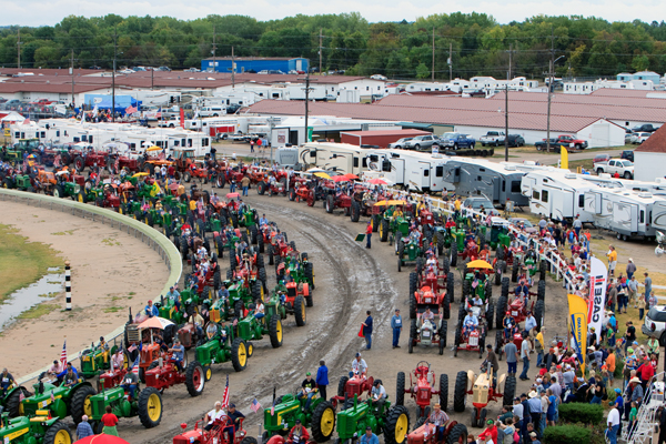 NSF to-do-list: Break record for the World's Largest Tractor Parade -- Check