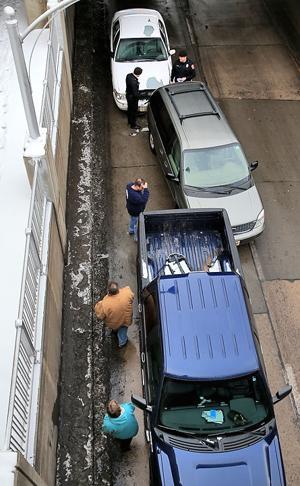 Eddy Street Underpass Accident