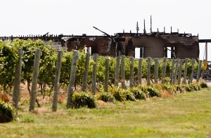 Fire destroys buildings at St. Paul winery