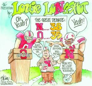 Louie Longshot for Nebraska- Ohio State