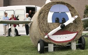 Hay Bale Decorating