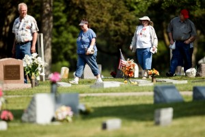History lives at the cemetery