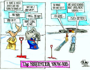 Sequester Snow Job