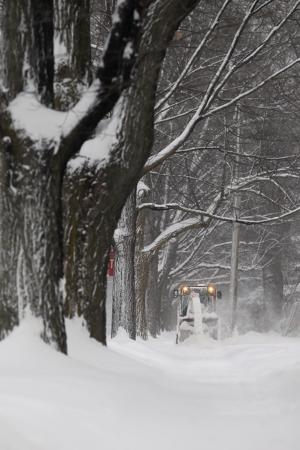 Digging out in Traverse City