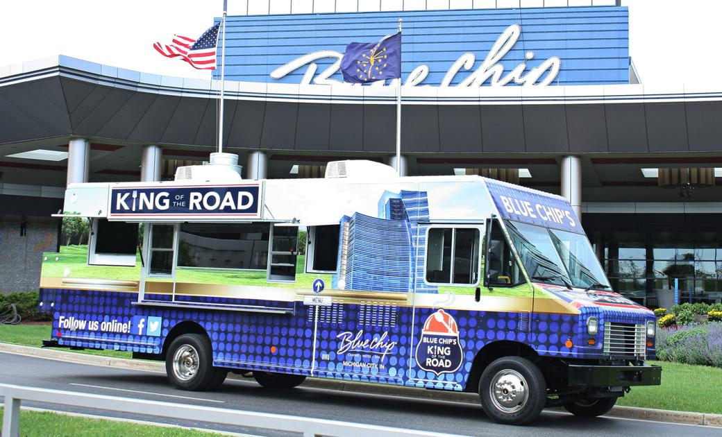 Blue chip hits the road to feature summer eats with 39 king for Laporte county clerk s office