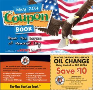 May 2014 Coupon Book