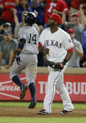 Rangers beat Yankees 3-2