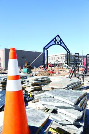 Construction on track for March completion date