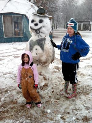 Snow Courtney Stowell and Mykah Tucker Detroit