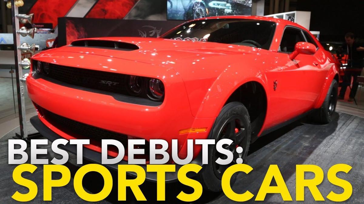 Image result for 6 Best Sports Car Debuts at the 2017 NY Auto Show: Jaguar F-Type, Dodge Demon, Honda Civic Si & More
