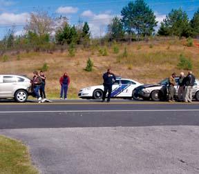 Sheriff's car involved in crash