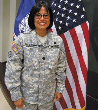 Native American Soldier Serves As Trailblazer The