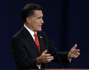Romney aggressive in first debate