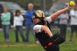 Gallery: Softball Action Marion vs Herrin