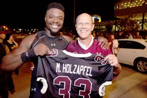 Social 'Seen': 2015 Salukis Black Out Cancer