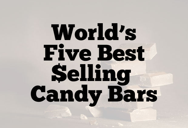 Best selling candy bars in the world