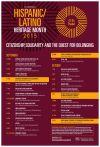 Hispanic/Latino Heritage Month lineup