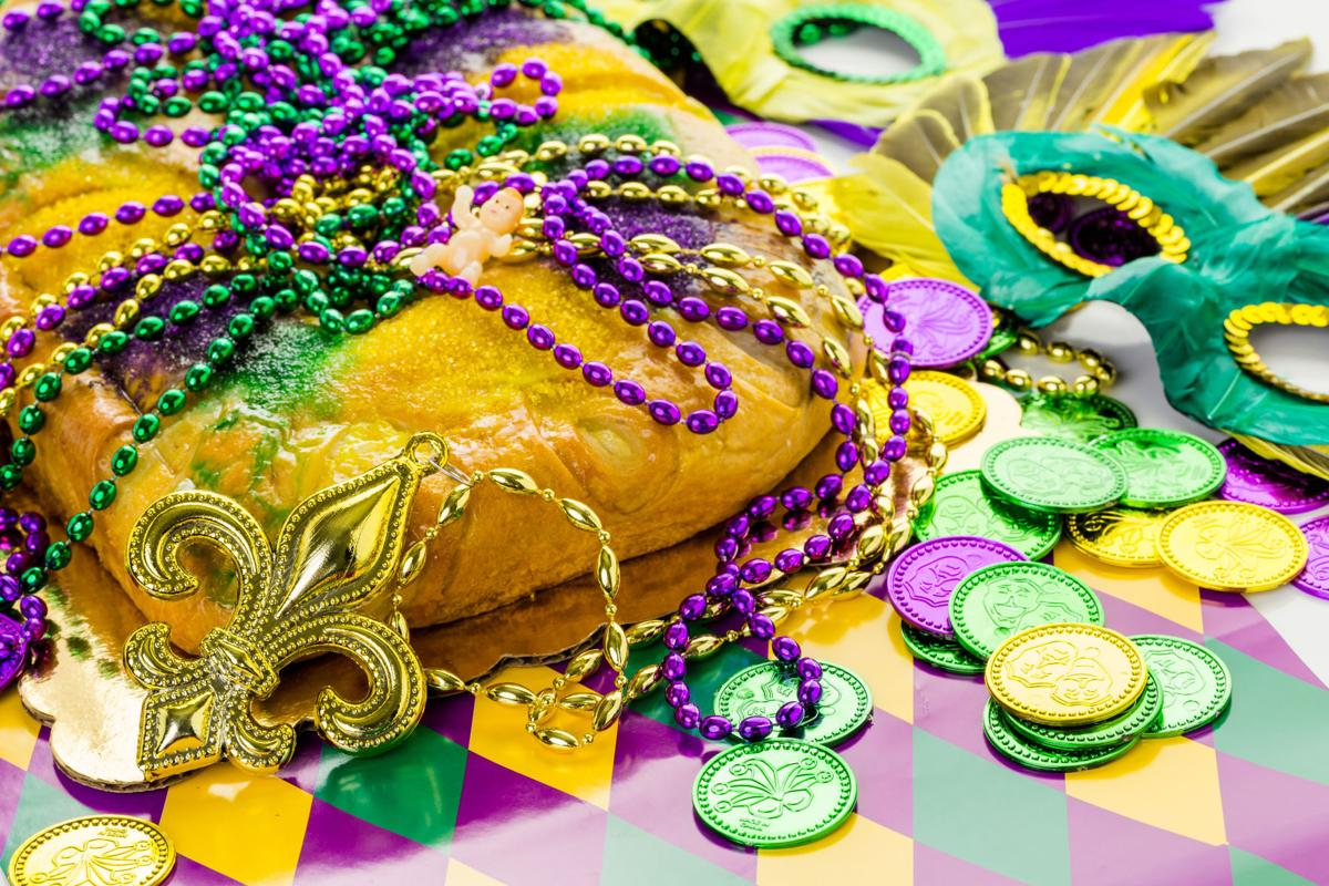 Mardi Gras king cake | Showstopper recipes | thesouthern.com