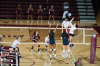 Saluki volleyball closes out Dayton in home opener