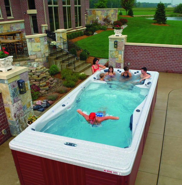 Lap pools and swim spas offer the ultimate aquatic workout ...