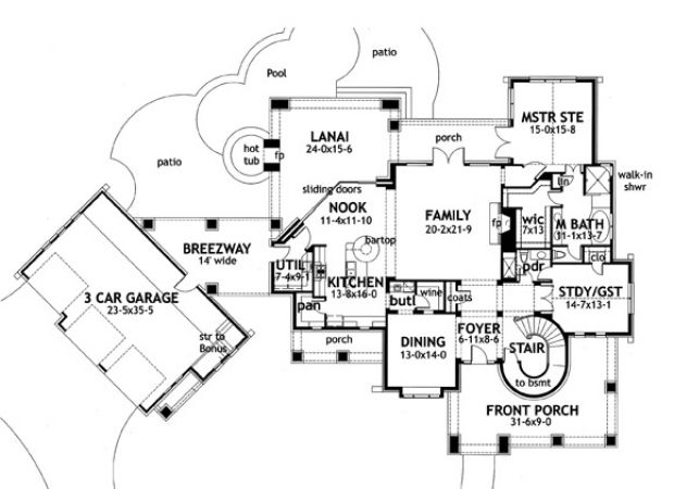 Breezeway house floor plans house design ideas Breezeway house plans