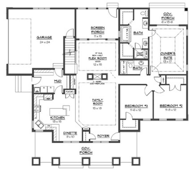 512d21367b528 Preview 620 House Plan For 1500 Sq Ft Images On House Planner