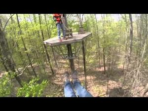 Video: Shawnee Bluffs Canopy Tour
