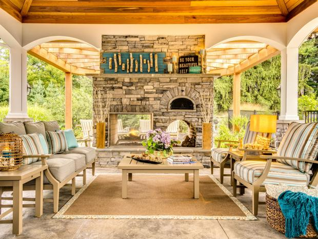 Cabin chic: Bring the luxury lodge home
