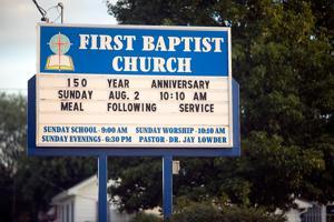 Pinckneyville First Baptist Church celebrates 150 years