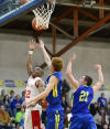 Meridian's Weldon made the most of a busy schedule