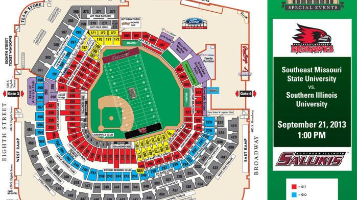 Busch Stadium Seating Chart Thesouthern Com