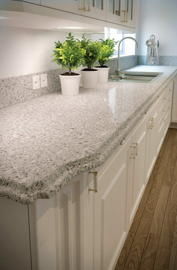 Menards Countertop Materials : ... is scratch- and stain-resistant choice in countertops : Lifestyles