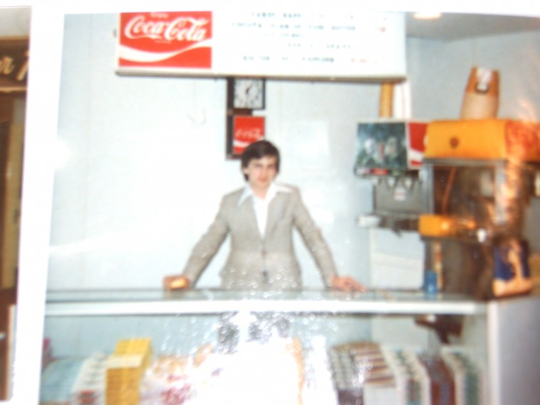 James Fisher  Behind Conccession Stand   Union Theatre1984