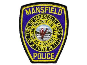 mans police patch