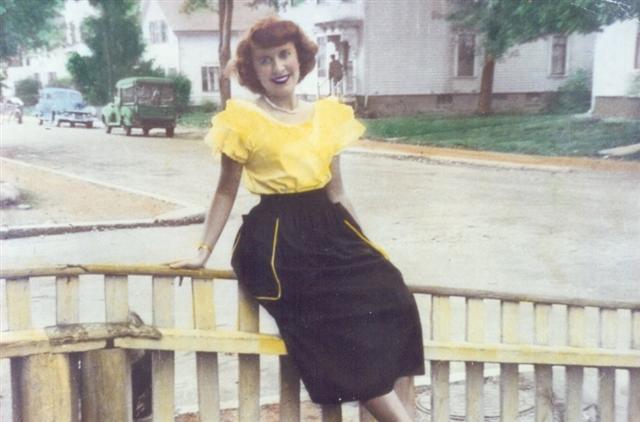 Woman on Broad Street 1946