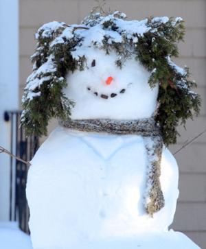 Snowman Wrentham SAPIX