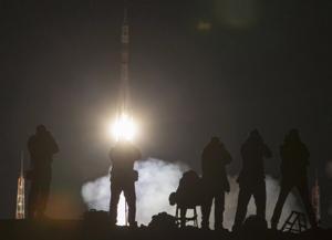 APTOPIX Kazakhstan Russia Space