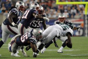 NFL Patriots Eagles