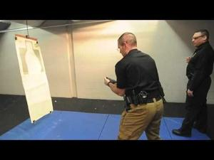 Norton PD Taser Training